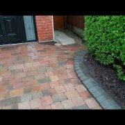 After drive pressure washed by leaf2leaflandscapes in CastleKnock Co.Dublin