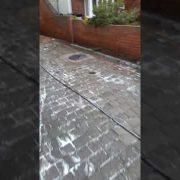 Another great job done by leaf2leaflandscapes in Dublin 15 drive and patio pressure washed & sealed