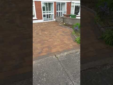 High Qauilty powerwashing and landscaping in Artane Co.Dublin done by leaf2leaflandscapes