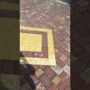 Pressure cleaning in Leopardstown Co.Dublin done by leaf 2 leaf landscapes