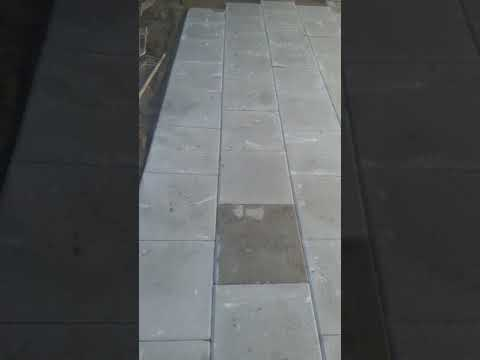 New patio just been layed by leaf2leaf landscapes in Raheny Co.Dublin