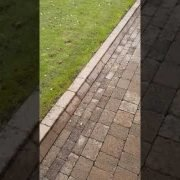 Another high Quality pressure driveway cleaning done by leaf2leaf landscapes in malahide Co.Dublin