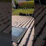 Roof restoration in Foxrock Co.Dublin done by leaf2leaflandscapes